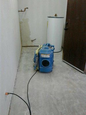 Water Heater Leak Restoration in West Newton IN by Twins Water Restoration